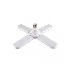 Αναδιπλούμενη Οικολογική Λάμπα - Φωτιστικό σε Σχήμα Ανεμιστήρα Ε27 Βιδωτή 45W - Fan Blade LED Bulb