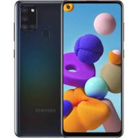 Samsung Galaxy A21s (64GB) Black μεταχειρισμενο  αγρατσουνιστο