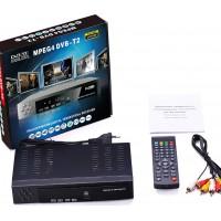 TV Set Box Ψηφιακός Δέκτης Mpeg-4 Full HD (1080p) με Λειτουργία PVR (Εγγραφή σε USB) Σύνδεσεις HDMI / USB