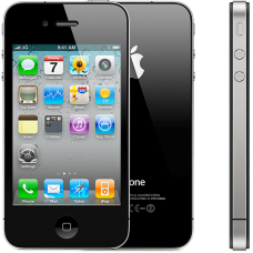 Apple iPhone 4 16GB - Μαύρο μεταχειρισμενο