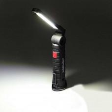 W-52 Επαναφορτιζόμενες Εργασίες Φως Φορητές Φωτιστικά Εργασίας CON 5 Με Μαγνητική Βάση Φακός